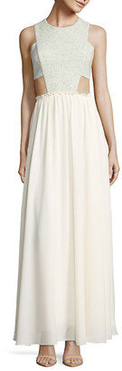 Prose & Poetry Genevieve Side Cutout Gown