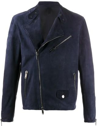 Tagliatore Off-Centre Zip Jacket