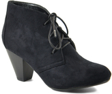City Classified Black Owena Bootie