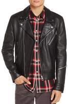 Paul Smith Leather Moto Jacket - 100% Exclusive