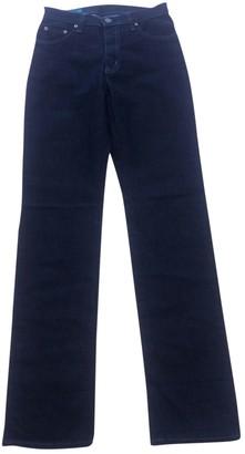 Fiorucci Navy Cotton - elasthane Jeans for Women