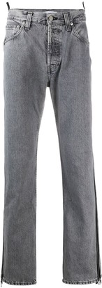 Helmut Lang High-Waisted Straight Jeans