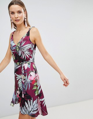 Morgan Allover Floral Mini Skater Dress