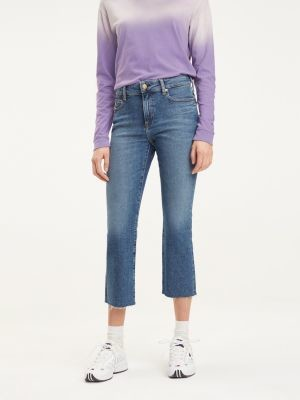 Tommy Hilfiger Crop Flare Fit Jeans