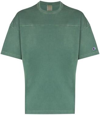Champion seam detail cotton T-shirt