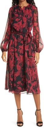 Ted Baker Rococo Long Sleeve Midi Dress