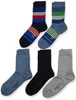 Falke Boy's Mixed Calf Socks,pack of 5
