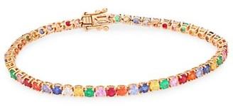 Anita Ko 18K Rose Gold Mixed-Stone Bracelet