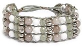Women's Treasure & Bond Three-Row Beaded Bracelet