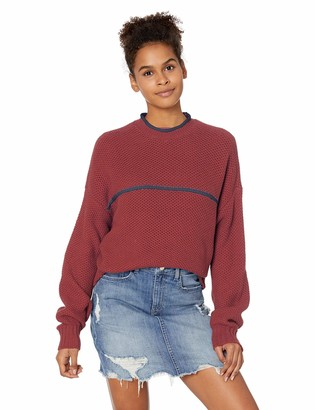 RVCA Junior's Jammer Cropped Sweater