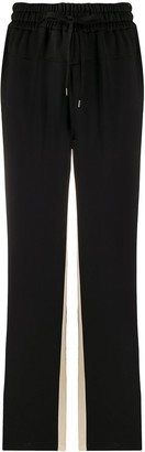 No.21 Contrast Panels Track Pants