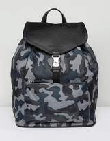 Smith And Canova Nylon And Leather Backpack