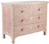 Moorish Chest - Pink Four Drawer