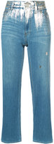 Tsumori Chisato metallic detail jeans