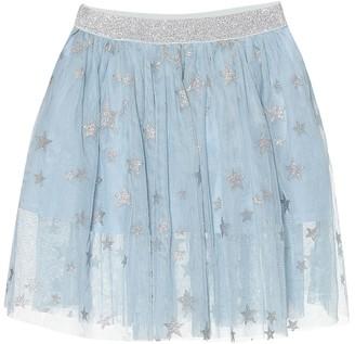 Stella Mccartney Kids Printed tulle skirt