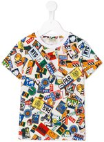 Kenzo badges print T-shirt - kids - Cotton - 2 yrs