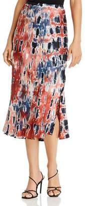 Young Fabulous & Broke Felicity Tie-Dye Slip Skirt
