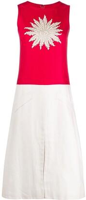 A.N.G.E.L.O. Vintage Cult 1960s Pre-Owned Appliqued Shift Dress