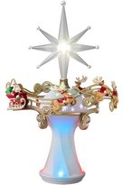 Hallmark Here Comes Santa Claus! Tree Topper - 2014 Keepsake Ornament by