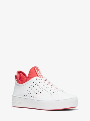 MICHAEL Michael Kors Ace Leather and Scuba Sneaker