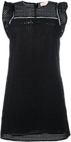 MICHAEL Michael Kors flute sleeve dress - women - Cotton - L