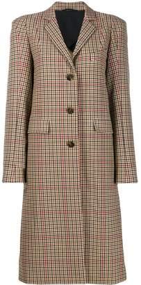 Vivienne Westwood plain button coat