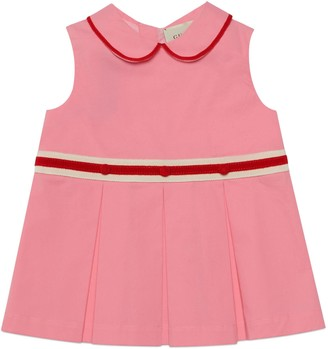 Gucci Baby cotton pleated dress