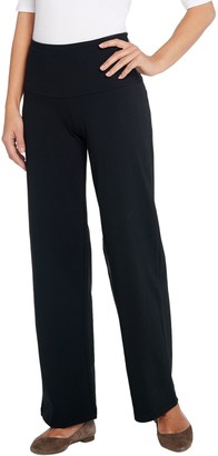 Women With Control Women with Control Tall Tummy Control Wide Leg Pants