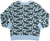 Stella McCartney Crocodile Organic Cotton Sweatshirt