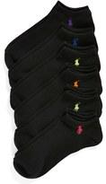 Ralph Lauren Women's 6-Pack Ankle Socks
