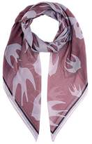 McQ Swallow-printed scarf