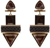 Natalie Waldman Sand Hamza Earrings