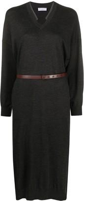 Brunello Cucinelli Fine Knit Jumper Dress