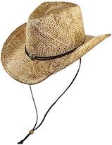 Jeanne Simmons Accessories Women's Cowboy Hats Natural - Natural UPF 50+ Cowboy Hat