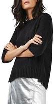 Topshop Women's Zip Back Sweater
