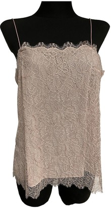 Chanel Pink Silk Top for Women