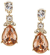 Givenchy Madison Silk & Jonquil Double-Drop Earrings