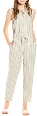 Lucky Brand Hayley Stripe Sleeveless Jumpsuit