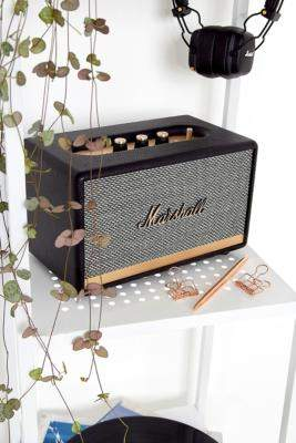 Marshall Acton II Home Bluetooth Speaker - Black ALL at Urban Outfitters