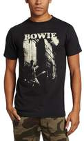 Impact Merchandising Men's David Bowie Guitar T-Shirt
