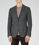 Reiss Abraham B - Patch Pocket Blazer in Brown, Mens
