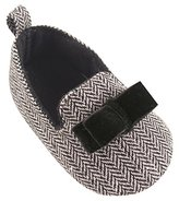 Luvable Friends Tweed Slipper Ballet Flat