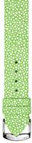 Philip Stein Teslar Green Galuchat Embossed Leather Watch Strap