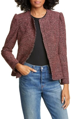 Tailored by Rebecca Taylor Tweed Knit Jacket
