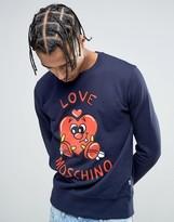 Love Moschino Character Logo Sweater