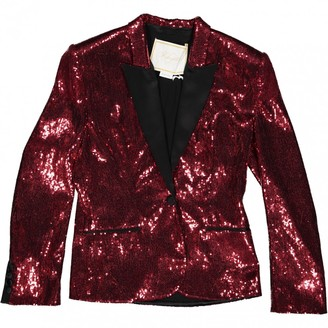 N. Non Signé / Unsigned Non Signe / Unsigned \N Red Polyester Jackets