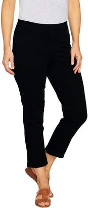 Denim & Co. Pull-on Stretch Crop Pant
