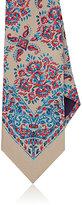 Ralph Lauren Purple Label Men's Floral-Print Silk Necktie