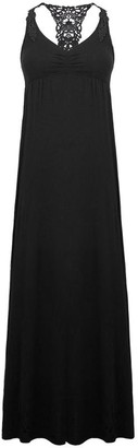 Black Label Sandra Cover-Up Maxi Dress