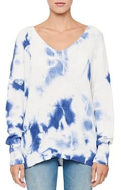 Aqua Cotton Tie-Dyed Sweater - 100% Exclusive